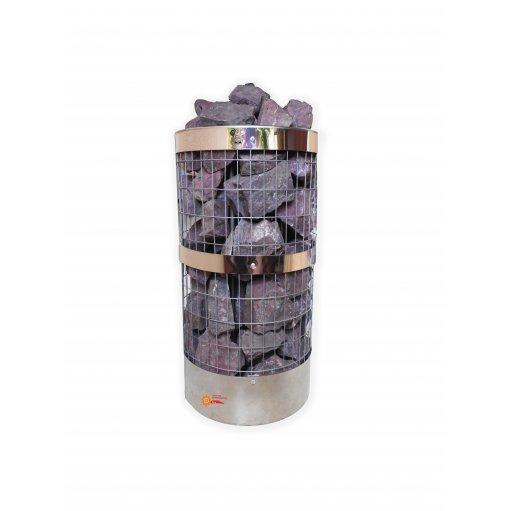 Электрокаменка ЭКМ-10,5 нержавеющая сетка