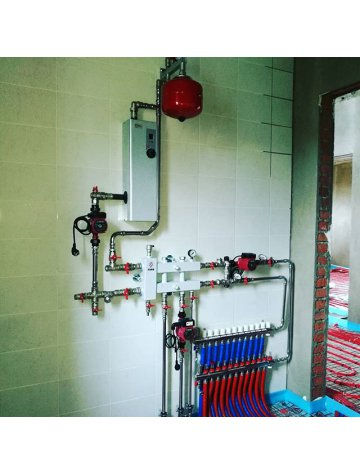 Электрокотел ЭВН-3 для отопления дома